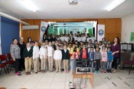 Mudanyalı öğrencilerin 3D Sinema Keyfi