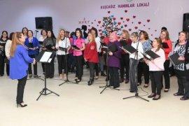 Büyükşehir'den kadınlara moral programı