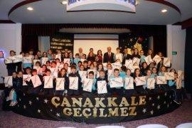 Başkan Türkyılmaz Atatürk'e mektup yazan öğrencilerle buluştu