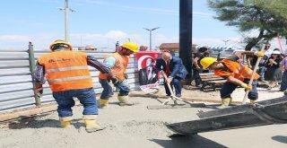 Mudanya'da Ata Park'ın Temeli Atıldı