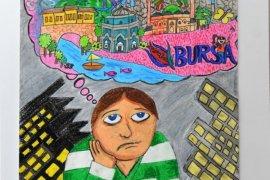 Hayallerindeki Bursa'yı resimlere yansıttılar
