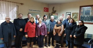CHP'den STK'lara NEZAKET ZİYARETİ