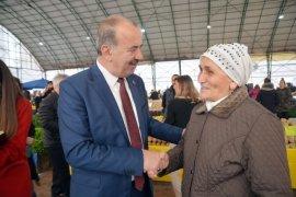 Başkan Türkyılmaz esnafla buluştu