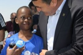 Dünya Çocukları Osmangazi'de Buluştu