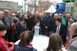 Osmangazi Belediyesi,Bahar Meydani ve Parkını hizmete açtı.
