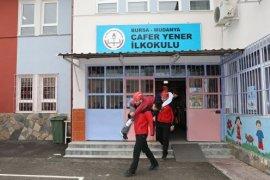 Mudanya Belediyesi Arama Kurtarma'dan deprem  tatbikatları