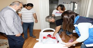 Başkan Türkyılmaz'dan Uğur Böceğine ziyaret