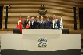 Ardino ve Bansko Belediye Başkanlarından Bozbey'e ziyaret