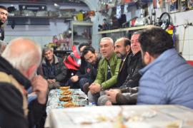 Başkan Edebali ilçe esnafıyla  kahvaltıda buluştu