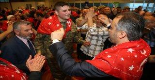 Engelli gençlerin askerlik kına  eğlencesi