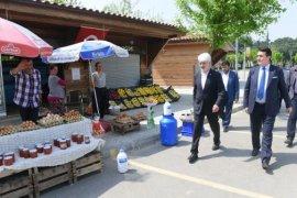 Ova Köyleri Üretici Pazarı İle Hareketlendi