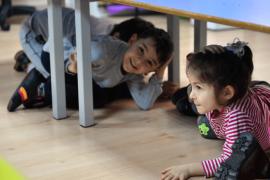 Yıldırımlı miniklere deprem eğitimi