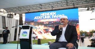 Hendek Atatürk Parkı Törenle Açıldı
