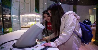 Geleceğin Bilim İnsanları Bilim Merkezi'nde