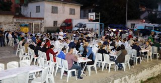 Mudanyalılar İftar Sofralarında Buluşuyor