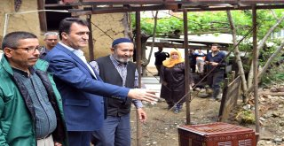 Evi Yıkılan Hasan Amcaya Osmangazi Belediyesi Sahip Çıktı