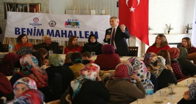 Başkan Zolan'dan Anafartalar'a alt yapı müjdesi
