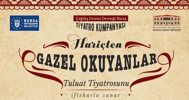 'Tuluat Tiyatrosu', Bursa Kent Müzesi'nde…