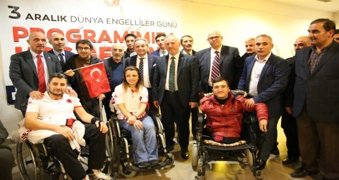 Erzurum Büyükşehir Belediyesi'nden anlamlı program.