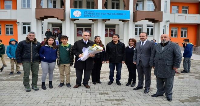 Başkan Gökhan Öğrenci Ve Öğretmenler İle Buluştu