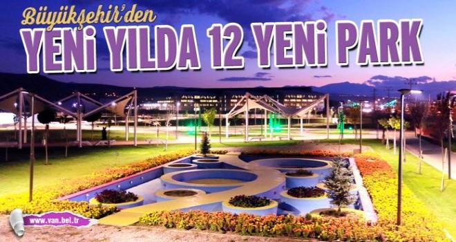 Van'ın Park ve Bahçelerle çehresi değişecek