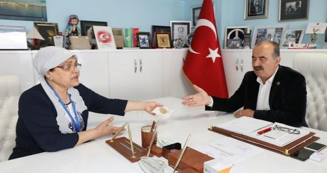 Başkan Türkyılmaz: 'Mudanyalılar BUSKİ'nin suyundan şikayetçi!'