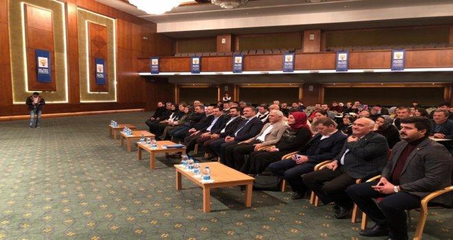 AK Parti Ankara İl Başkanlığı tarafından Kızılcahamam'da çalıştay gerçekleştirildi