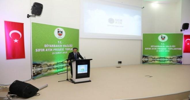 Diyarbakir'da 'Sıfır Atık' Projesi tanıtımı yapıldı