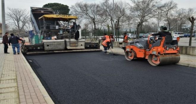 Osmangazi Belediyesi 12 mahalleyi asfaltladı