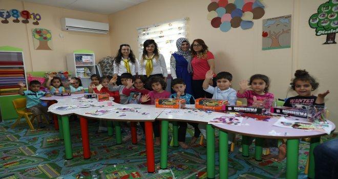Diyar Masa ekipleri çocuklarla buluştu