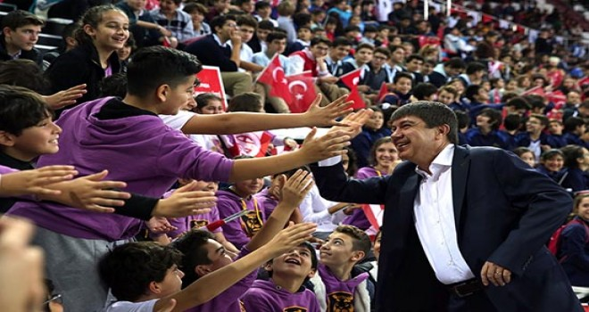 Antalya Okullar Ligi'nde rekor katılım