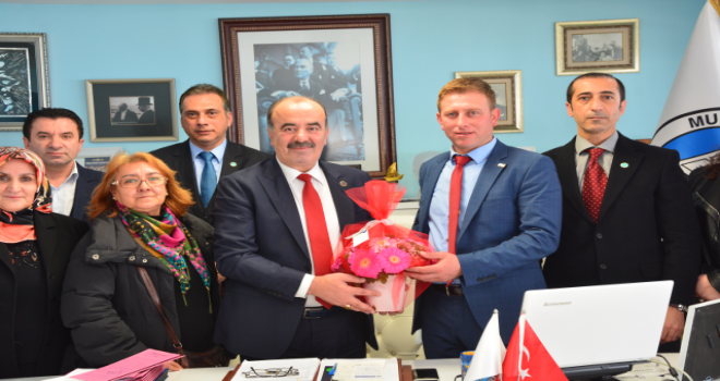Başkan Türkyılmaz'a İyi Parti'den ziyaret