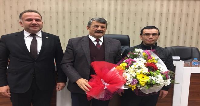 Kumluca'dan Bartın Belediyesi'ne teşekkür ziyareti
