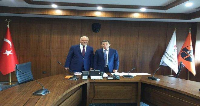 Belediye Başkanı İrfan Tatlıoğlu,  Adiloğlu'nu ziyaret etti.
