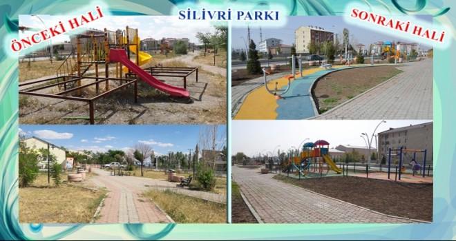 Ağrı Belediyesi'nden parkları  yenileme hamlesi.