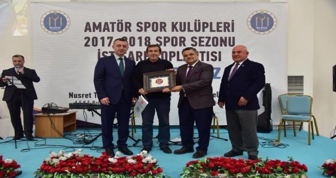 Bilecik Amatör Spor Kulüpleri Federasyonu  istişare toplantısı  gerçekleştirildi.