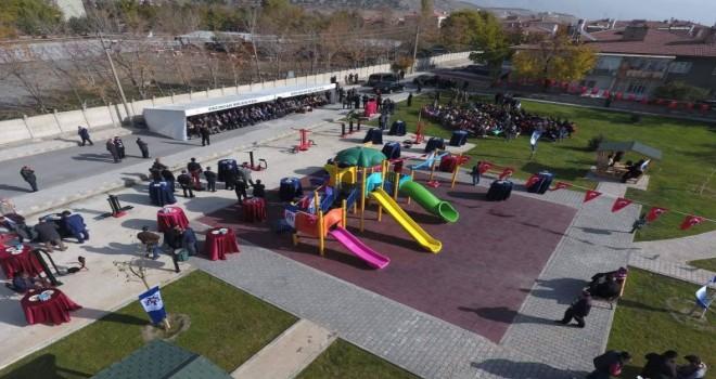 Şehit Mete Sertbaş'ın isminin verildiği  park açıldı.