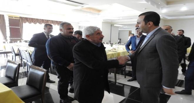 Başkan Bedirhanoğlu, Muhtarlarla Bir Araya Geldi.