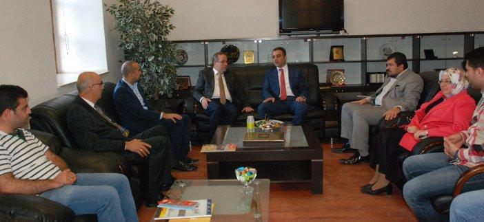Diyarbakır İl Başkanı Altaç'dan bayram ziyaretleri