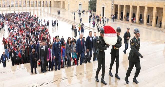 Mudanya'nın gurur günü: Bin 283 Öğrenci Ata'nın huzuruna çıktı