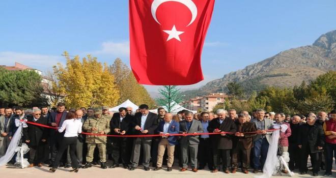 Amasya Şirin Köprüsü Hizmete Açıldı
