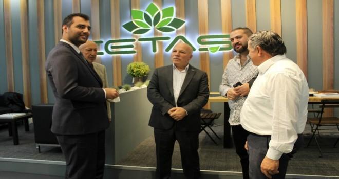 Erzurum Büyükşehir Belediyesi, İstanbul Süs Bitkileri ve Peyzaj katıldı.
