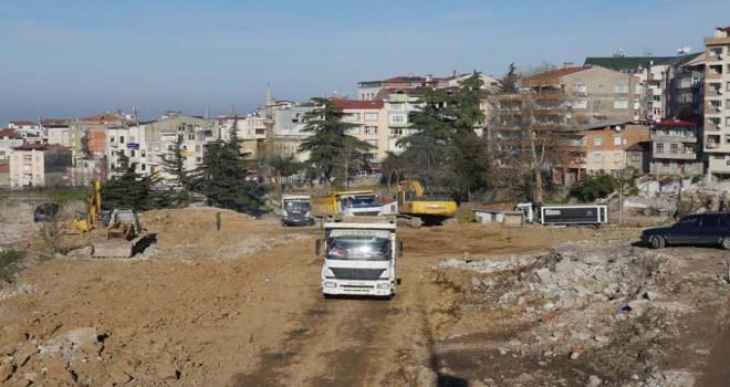 Trabzon Öğretmen Evinin yapımına başlandı