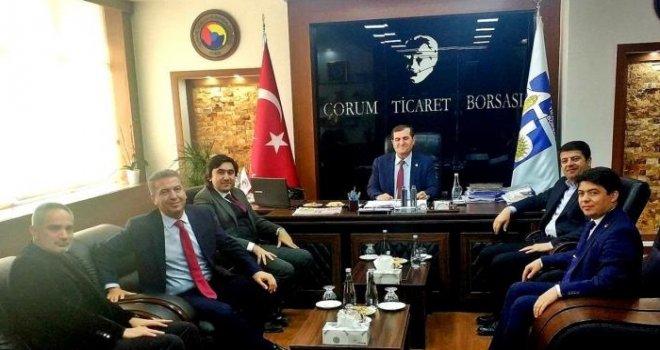 CHP TİCARET BORSASI ZİYARETİ