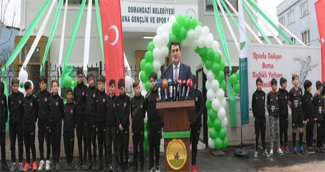Osmangazi'den Bir Spor Tesisi Daha