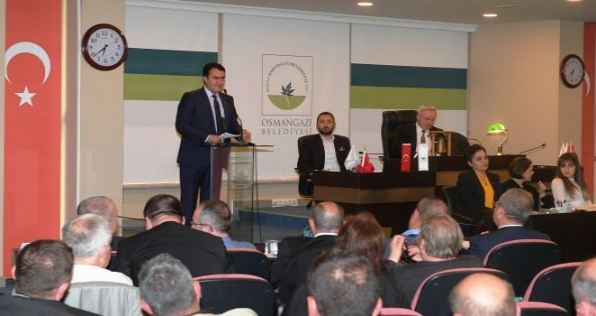 Dündar: 'Kızıl Elma'nın İlk Adımı Osmangazi'de Atıldı'