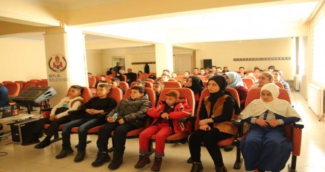 Bitlis'in ilk çocuk meclisi kuruldu