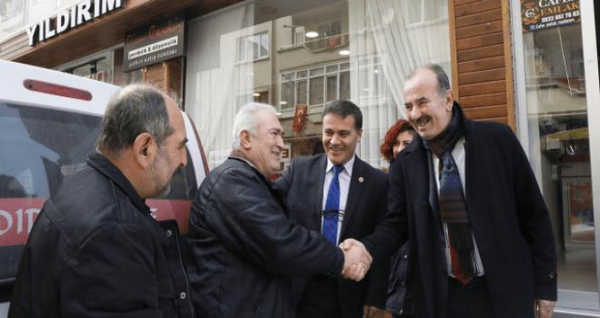 Başkan Türkyılmaz : projemiz hazır,Büyükşehir'i bekliyoruz
