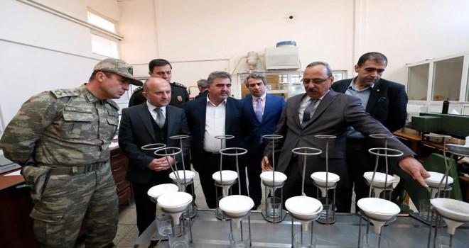 Suluova Şeker Fabrikası'nda İnceleme