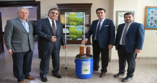 Osmangazi'de Atık Bitkisel Yağlar Biyodizele Dönüşüyor